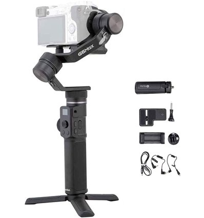 Feiyu Feiyutech G6 Max Gimbal Stabilizzatore a 3 assi per fotocamere action-cam smartphone