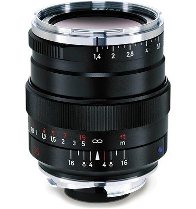 Obiettivo Carl Zeiss Distagon T* 35mm f/1.4 ZM nero per mirrorless Leica M