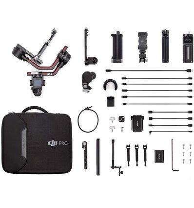 DJI Ronin RS 2 Combo gimbal stabilizzatore per fotocamere mirrorless e reflex fino a 4,5 kg