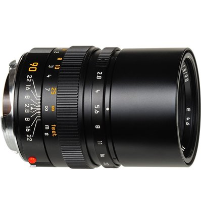 Obiettivo Leica Elmarit-M 90mm F2.8 nero