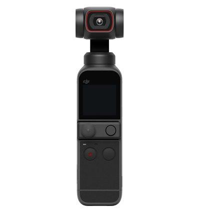 DJI Pocket 2 Gimbal Action Cam Fotocamera 4K Stabilizzata a 3 assi