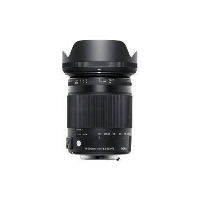 Obiettivo Sigma 18-300mm F3.5-6.3 DC MACRO OS HSM | C x Canon 18-300