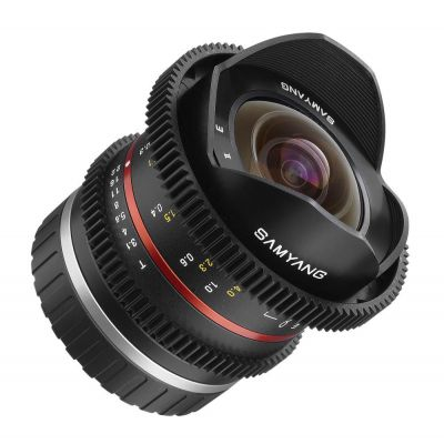 Obiettivo Samyang 8mm T3.1 V-DSLR UMC Fish-eye II x Sony E-mount