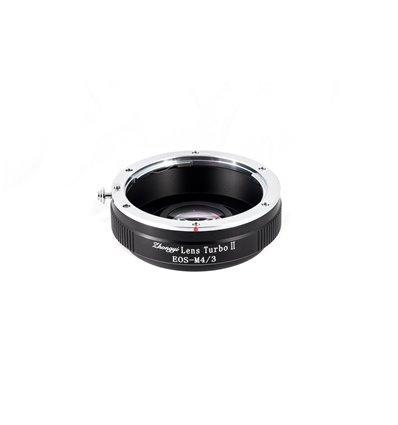 Zhongyi Mitakon Turbo adattatore II da obiettivo Canon a fotocamera micro quattro terzi