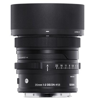 Obiettivo Sigma 35mm f/2 DG DN Contemporary per Panasonic Leica Sigma L-Mount