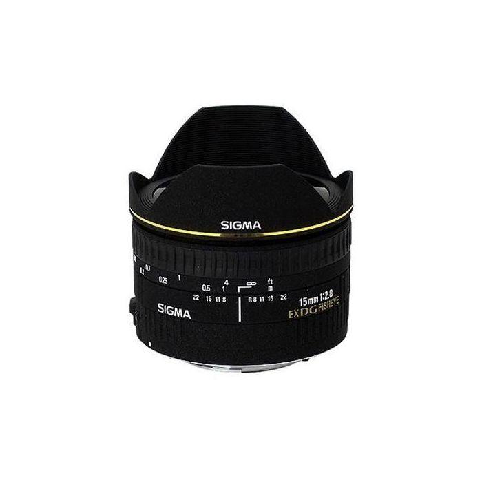 Obiettivo Sigma 15mm F2.8 EX DG DIAGONAL FISHEYE x Nikon Lens