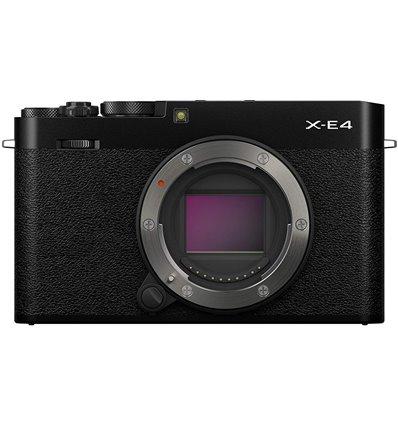 Fotocamera Mirrorless Fujifilm X-E4 body nero