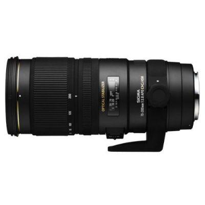 Obiettivo Sigma APO 70-200mm F/2.8 EX DG OS HSM x Sony Lens