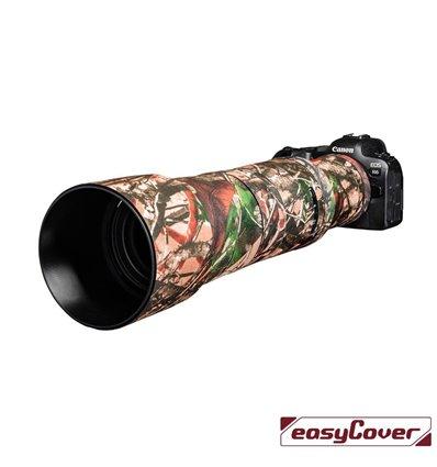 easyCover custodia in neoprene forest mimetico per obiettivo Canon RF 800mm F/11 IS STM lens oak