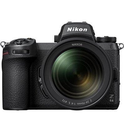 Fotocamera Mirrorless Nikon Z6 Mark II Kit 24-70mm f/4S [MENU ENG]