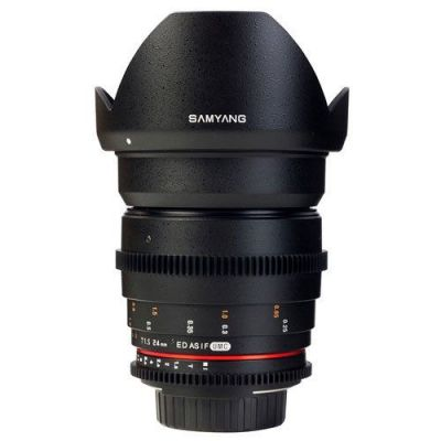 Obiettivo Samyang 24mm T1.5 ED AS UMC VDSLR x Sony E-Mount Lens
