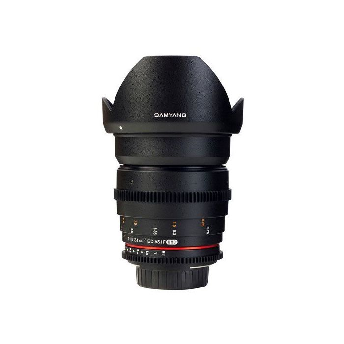 Obiettivo Samyang 24mm T1.5 ED AS UMC VDSLR x Sony E-Mount Lens