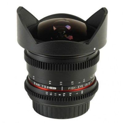 Obiettivo Samyang 8mm T3.8 Asph IF MC Fisheye CS x Sony E-Mount Lens