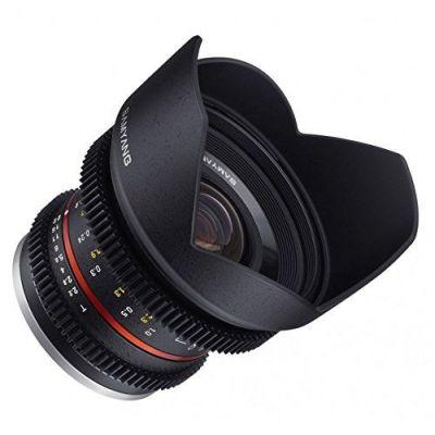 Obiettivo Samyang 12mm T2.2 Cine NCS CS x Fuji Fujifilm X Lens