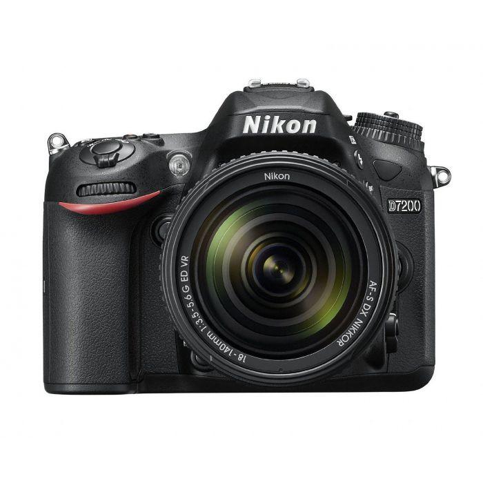 Fotocamera Nikon D7200 kit 18-140mm VR 18-140