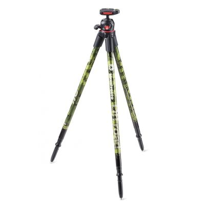Manfrotto Foto Treppiedi Off road ultraleggero colore verde, testa a sfera MKOFFROADG