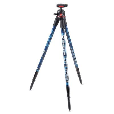 Manfrotto Foto Treppiedi Off road ultraleggero colore blu, testa sfera MKOFFROADB