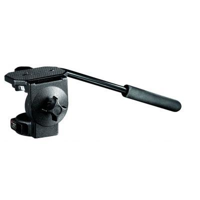 Manfrotto Video Testa fluida video con piastra larga 128LP