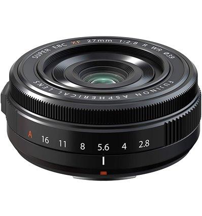 Obiettivo FUJINON XF 27mm F2.8 R WR per mirrorless Fujifilm *RETAIL* nero