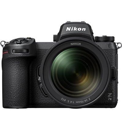 Fotocamera Mirrorless Nikon Z7 Mark II Kit 24-70mm F4S [MENU ENG] (no adattatore)