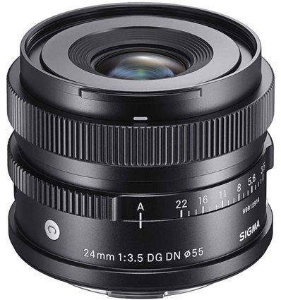 Obiettivo Sigma 24mm F3.5 DG DN Contemporary per Panasonic Leica Sigma L-Mount