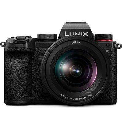 Fotocamera Mirrorless Panasonic Lumix DC-S5 kit 12-60mm [MENU ENG]