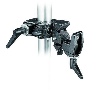Manfrotto Lighting Doppio morsetto double clamp 038