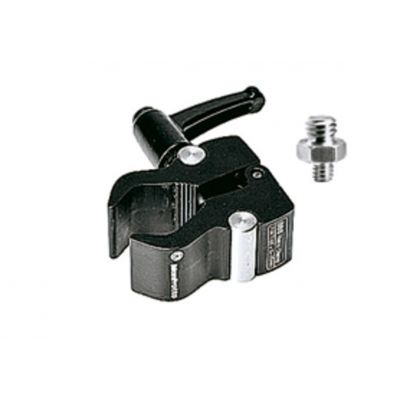Manfrotto Lighting Nano clamp con adattatore per camera 386BC