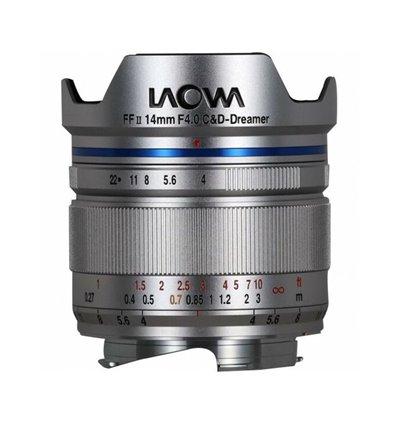 Obiettivo Laowa 14mm f/4 FF RL Zero-D silver per mirrorless Leica M