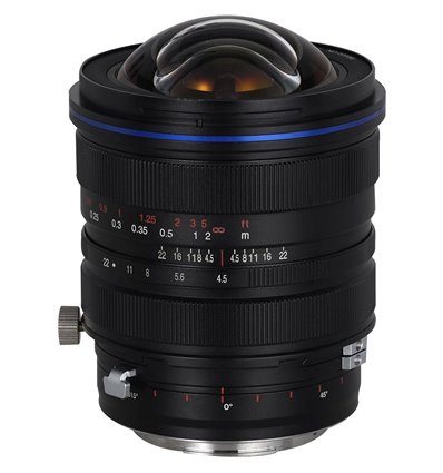 Obiettivo Laowa 15mm f/4.5 ZERO-D Shift attacco Canon EF