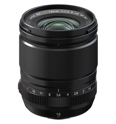 Obiettivo FUJINON XF 18mm F1.4 R LM WR per mirrorless Fujifilm