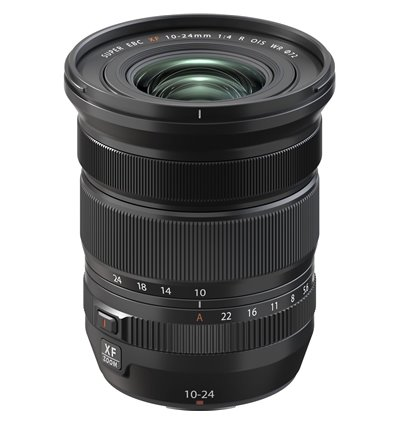 Obiettivo FUJINON XF 10-24mm F4 R OIS WR per mirrorless Fujifilm