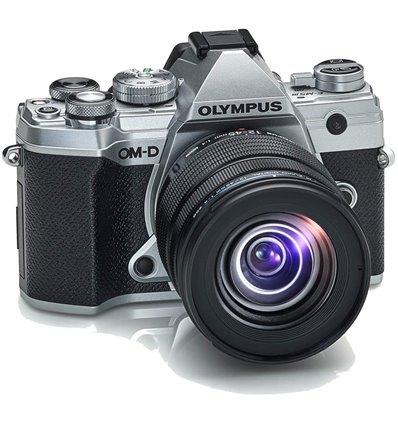 Fotocamera Olympus OM-D E-M5 Mark III kit 12-45mm F/4 silver