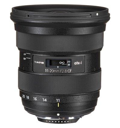 Obiettivo Tokina ATX-i 11-20mm F2.8 CF per Nikon F