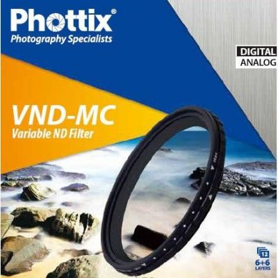 Phottix Filtro Densità Variabile ND Multi-Coated Filter VND-MC 82mm