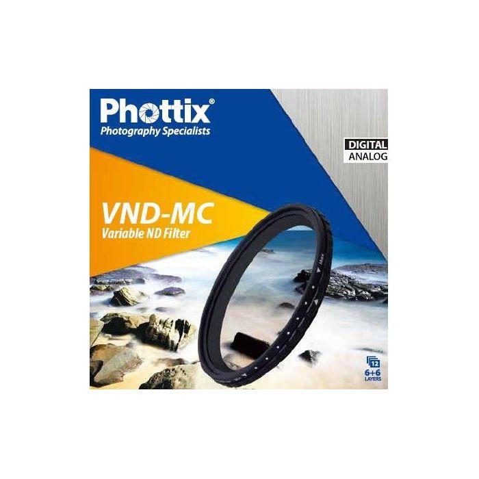 Phottix Filtro Densità Variabile ND Multi-Coated Filter VND-MC 82mm