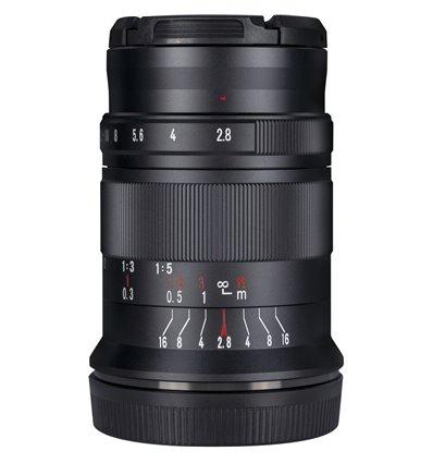 Obiettivo 7Artisans 60mm F2.8 Macro Mark II compatibile Sony E-Mount