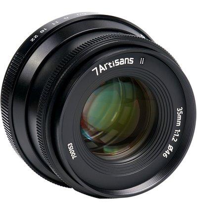 Obiettivo 7Artisans 35mm F1.2 APS-C Mark II - Fujifilm X