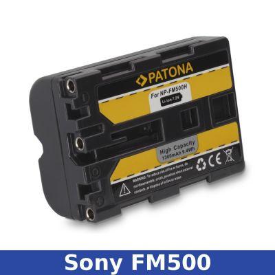 Patona Batteria Sony NP-FM500
