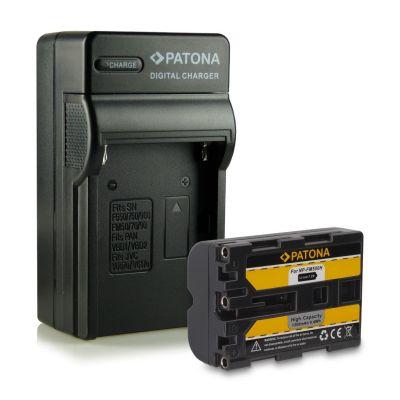 Patona kit Batteria Sony NP-FM500 + Caricabatterie NP-FM500H