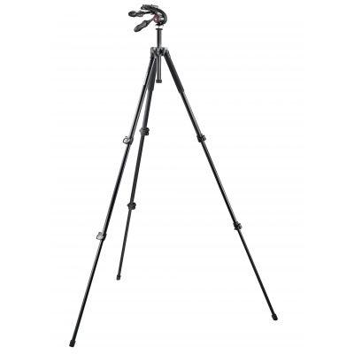Manfrotto Foto Serie 290 kit alu 3 sezioni e testa pieghevole a 3 movimenti MK293A3-D3Q2