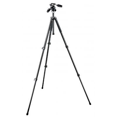 Manfrotto Foto Kit 294 alluminio + testa a 3 movimenti e Quick Release RC2 MK294A3-D3RC2