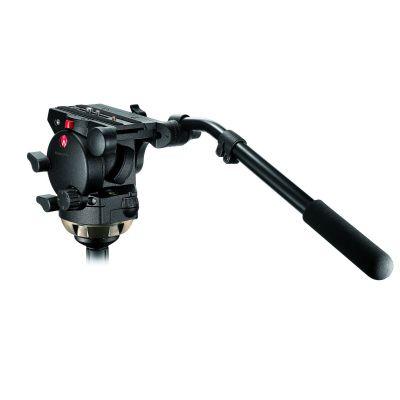 Manfrotto Video Testa video con semisfera 100mm, 1 leva telescopica 526