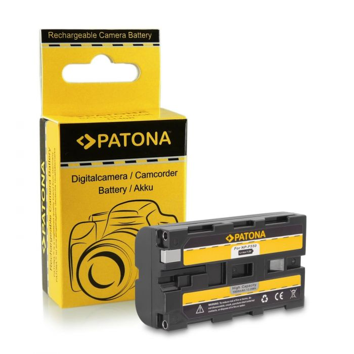 Patona Batteria NP-F550 per Sony