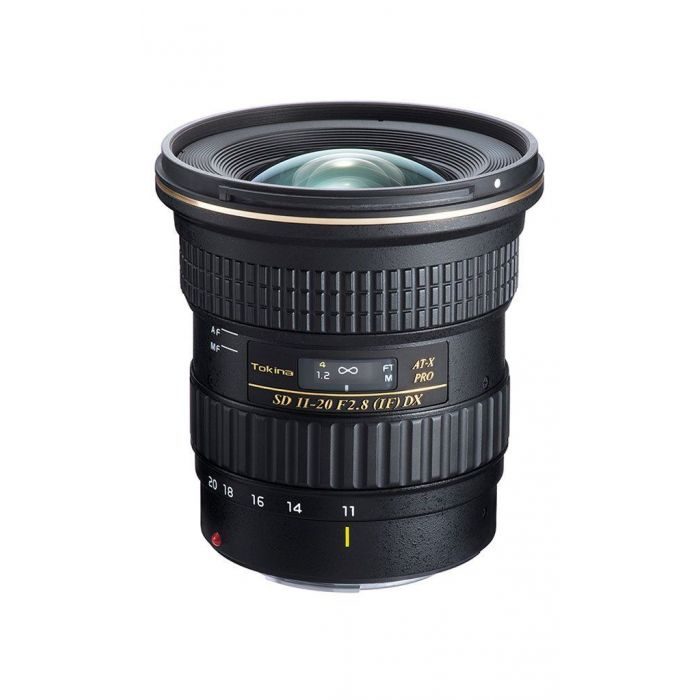 Obiettivo Tokina AT-X 11-20 PRO DX f/2.8 11-20mm x Canon Lens