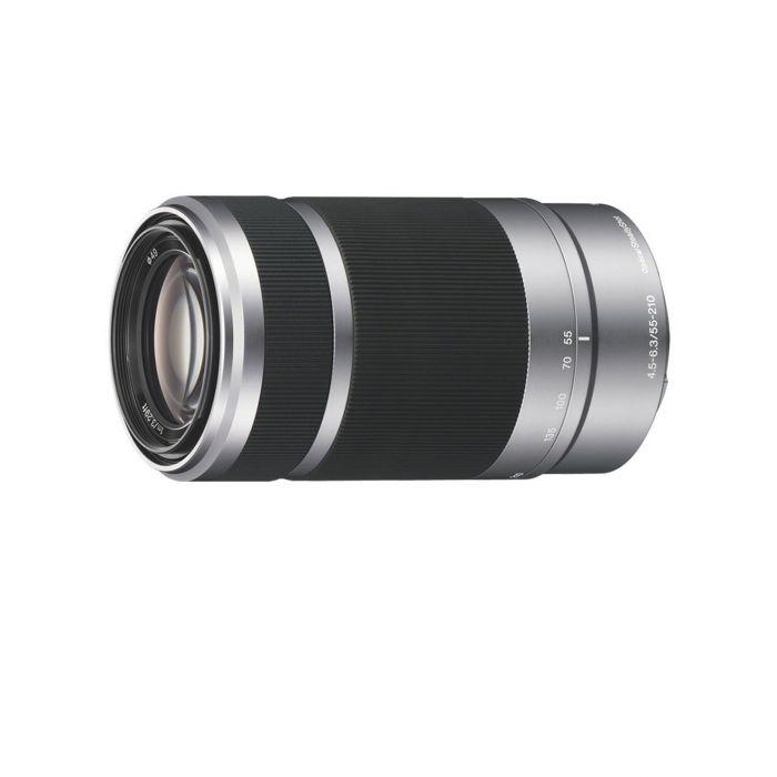 Obiettivo Sony E 55-210mm F4.5-6.3 OSS SEL55210 Silver E-Mount