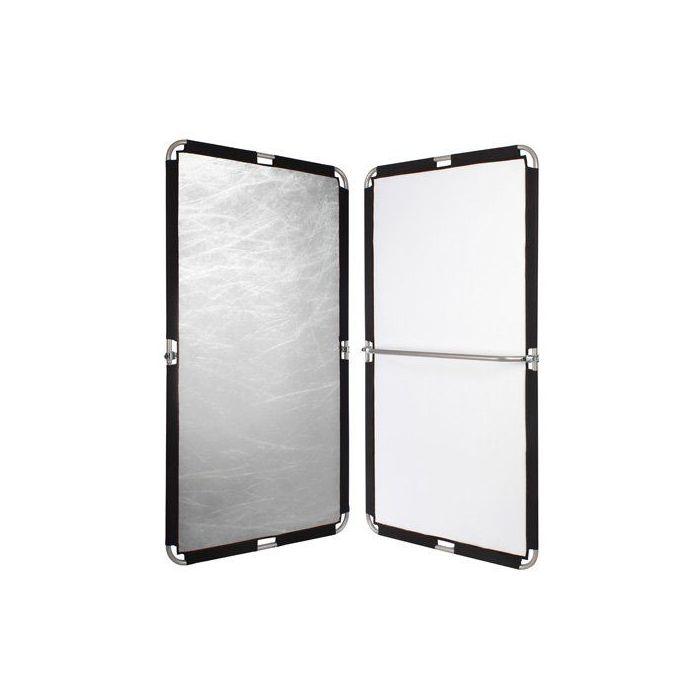 Quantuum Fomex Pannello Riflettente 1,1x2mt. Peri Bounce PFR1120 Oro e Bianco