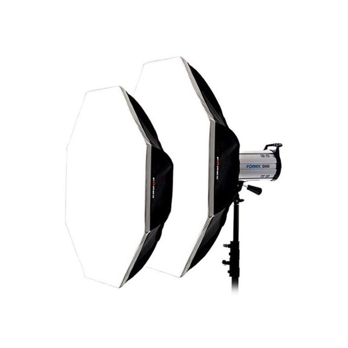 "Quantuum Fomex Softbox OCTA120(L) (48"") 120cm lightweight feather peso leggero"