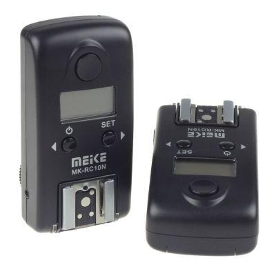 Meike MK-RC10N N3 (MC-DC2) Flash Trigger x Nikon D5100 D7000 D7100 D3200 D3300 D600 D5300 D5200 D750 D5500 D7200 D610 D90 D3100