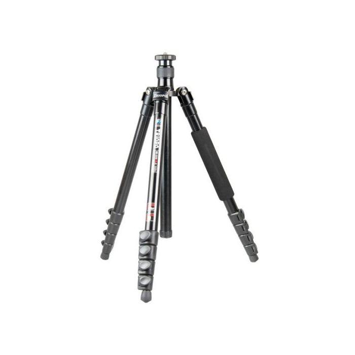 Triopo Treppiedi ME-3232X8C Tripod Cavalletto Treppiede lega di alluminio magnesio 4 sezioni